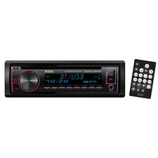 NEW 750BRGB Boss Single Din CD/MP3 ReceiverMulti-Color Display Bluetooth USB Fr