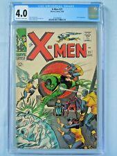 Marvel X-Men #21 CGC 4.0 1966 Lucifer Appearance