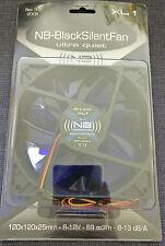 Noiseblocker NB-BlackSilentFan ultra quiet Rev. 3.0 120mm PC Gehäuselüfter