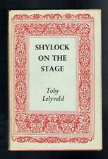 Lelyveld, Toby; Shylock on the Stage. Routledge & Kegan Paul 1961 VG