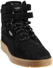 ceb20138f2b PUMA Sky II Hi Winterised Mens Black Leather High Top Lace up SNEAKERS Shoes  7