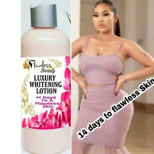 Fast action whiteningLotion,  4 Shades Lighter, Even Skin Tone