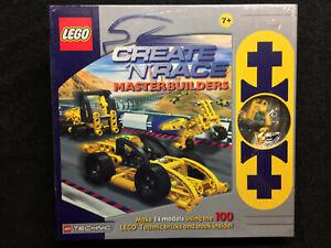 Lego Create 'N' Race MasterBuilders SEALED NEW! Lego # 3057