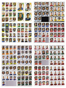 Panini WM World Cup 1998 2002 2006 2014 2018 Sticker - signiert - AUSWAHL CHOOSE