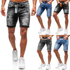 Kurzhose Jeans Shorts Freizeit Denim Bermudas Motiv Herren Mix BOLF 7G7 Classic