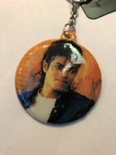 MICHAEL JACKSON Padded DOUBLE SIDED KEY RING