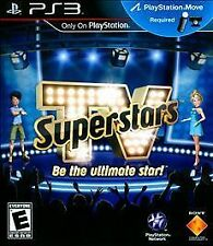 TV SuperStars Sony PlayStation 3 2010 New Sealed Games Comedy Mischief