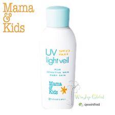 Mama&Kids UV Light Veil for Sensitive Skin Baby Skin SPF23 PA++  F/S Track