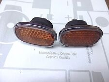 MERCEDES 300d Adenauer  189  Rear Body Reflectors  Pair L&R  With Rubber Mounts