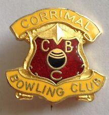 Corrimal Bowling Club Badge Rare Vintage (M8)