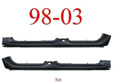 98 03 Dodge Durango Extended Rocker Panel Set Assembly Left & Right Sides Both!