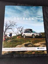 2019 SUBARU OUTBACK 26-page Original Sales Brochure