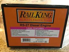 Mth RailKing Chicago Northwestern Diesel Locomotive RS 27 Proto 2.0 W/ Box