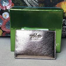 NEW Kate Spade Highland Drive ROSE GOLD PINK FOIL Credit Card Holder Wallet $50