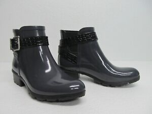 Cougar Taylor Handcrafted Rubber Boots Buckle Rain Bootie Size Womens 6M
