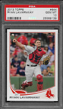 2013 Topps 644 Ryan Lavarnway Gem Mint PSA 10 Boston Red Sox World Series Champs