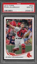 2013 Topps 644 Ryan Lavarnway Gem Mint PSA 10 Boston Red Sox World Series Champs