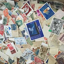 Worldwide Kiloware Collection Bunch Lot 500 Stamps Off Paper many countries!