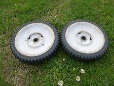 """AYP McCulloch Ralley 9 inch plastic  wheel on 1/2"""" shaft pair."""