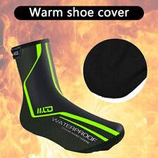 Waterproof Cycling Shoe Cover Overshoes Bike Bicycle Foot Boots Winter Warmer