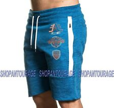 American Fighter Carter FM8010 New Blue Track Shorts For Men By Affliction