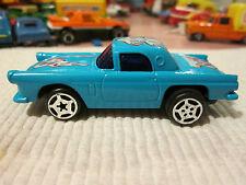 1986 Blue-Box Toys #7 Ford Thunderbird T-Bird Car Makes Engine Sound #3586 Mint