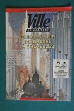 SCHUITEN / illustrations dans Ville et Habitant - Magazine des Bruselois 1992
