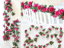 4 Rose Color Artificial Hangings Small Flowers Vines For Wedding