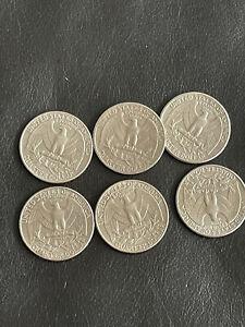 Job lot of US Quarter dollars
