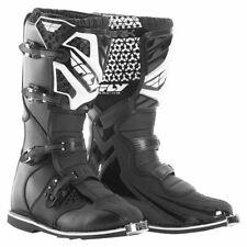 FLY MAVERIK MX BOOT MOTOCROSS OFFROAD BLACK AND WHITE SIZE UK13