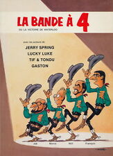 RARE EO CATALOGUE 1981 + JIJÉ + MORRIS + WILL + FRANQUIN : LA BANDE À 4