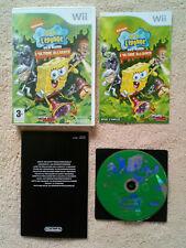 Bob l'Eponge Et Ses Amis l'Ultime Alliance Wii / dvd sans éraflures . tbé
