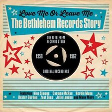 The Bethlehem Records Story - Love Me Or Leave Me (3CD) NEW/SEALED