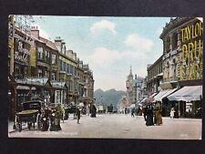 RP Vintage Postcard - Yorks. #C1 Parliament Street, Harrogate  Taylor Drug Store