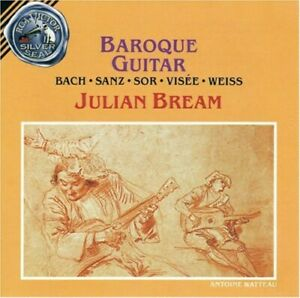 Julian Bream - Baroque Guitar CD NEW