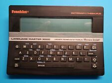 Franklin Electronic Dictionary Thesaurus -  Language Master 3000 - LM-3000B