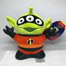 """New listing Disney Toy Story Alien Pixar 8.5"""" Remix Plush The Incredibles Limited Release"""