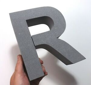 190MM HIGH, 50MM THICK, 3D CRAFT LETTERS XPS FOAM