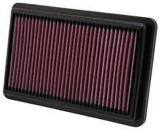 K&N Drop In Replacement Panel Air Filter 2012-2015 Honda Civic SI 2.4L L4