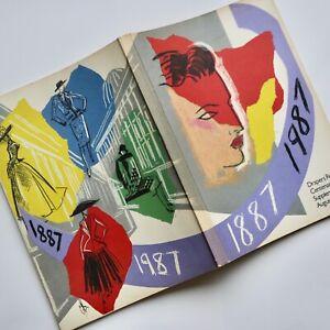 80s vintage Colin Barnes Drapers Record fashion drawing illustration CSM