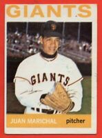 1964 Topps #280 Juan Marichal EX WRINKLE MARKED San Francisco Giants FREE SHIP