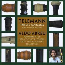 Aldo Abreu - Telemann: Twelve Fantasias [New CD]