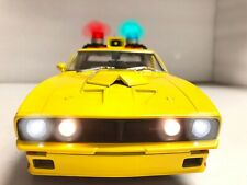 MFP Ford XB Falcon INTERCEPTOR 1974 MAD MAX First V8 1/18 WORKING Police LIGHTS