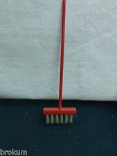 Dollhouse Miniature Wood Sweeping Broom w/Bristles ~Antique Furniture ~Germany