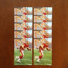 Darrell Green Washington Redskins Lot of 10 unsigned Goal Line Art Cards