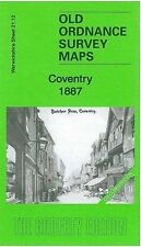 MAPPA di COVENTRY 1887 (colorate)