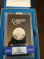 1884 CC MS 64 PL Morgan Silver Dollar GSA in Box with COA 1884-CC. NO RESERVE