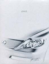 2008 Lexus LS LS460 LS600h 32-page Original Car Sales Brochure Catalog  - Hybrid