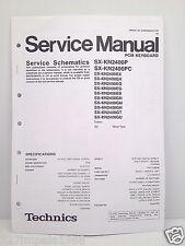 Technics Original Service Manual Schematics SX-KN2400 PCM Keyboard
