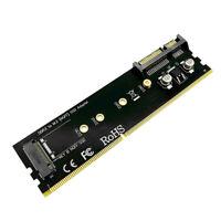 Steckplatz Für DDR3 Speicherkarte SATA Zu M.2 NGFF SSD B Key Adapterkarte Riser